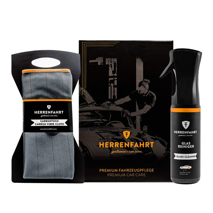Herrenfahrt Professional Car Care Set Ultimate Glass Cleaning Bundle Kit - HFKIT004
