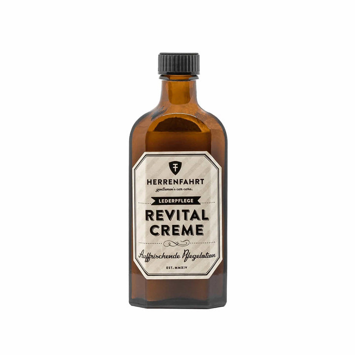Herrenfahrt Revital Cream Revitalizing Leather Cream for used Smooth Leather - 150ml