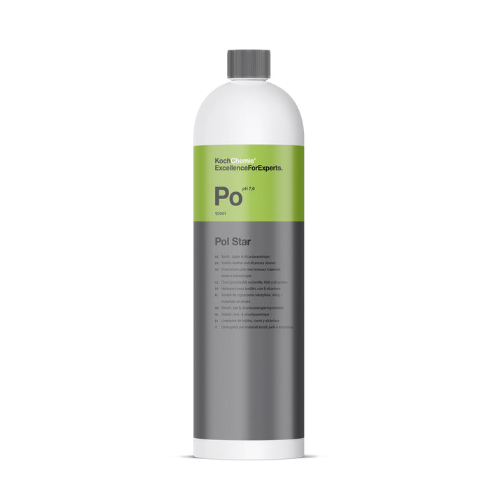 Koch Chemie Pol Star Textile, Leather and Alcantara Cleaner - 1L