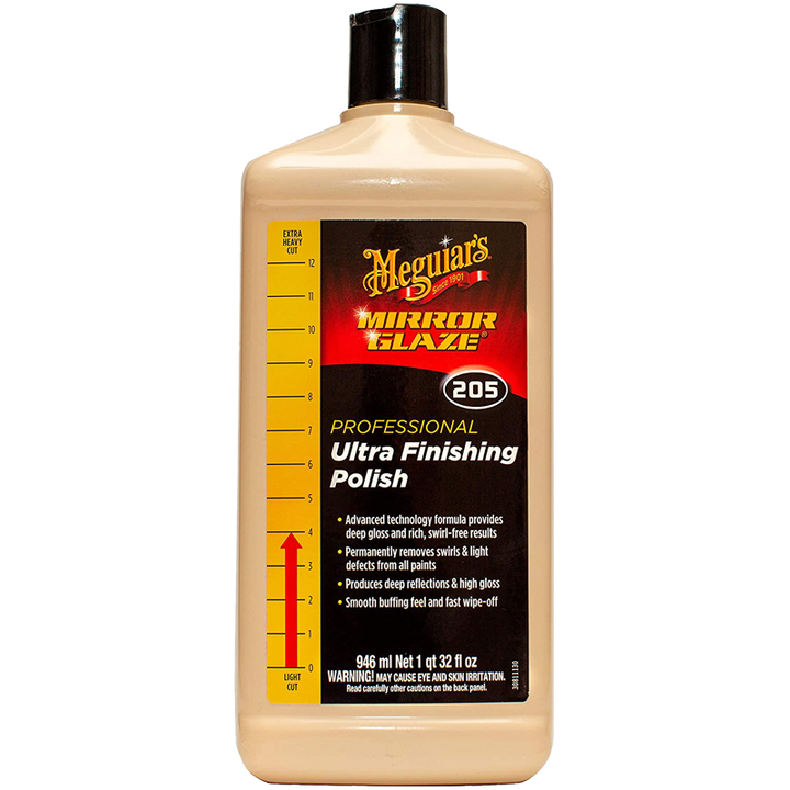 Meguiars Professional M205 Mirror Glaze Ultra Finishing Polish - 945ml