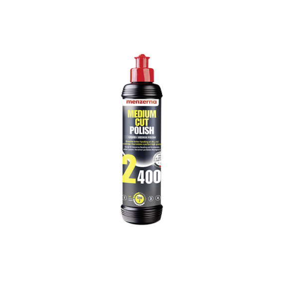 Menzerna Medium Cut Polish 2400 - 250ml/1L