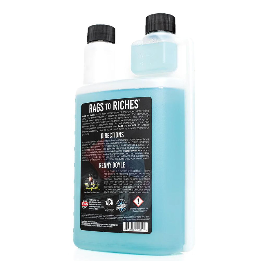 P&S Rags to Riches Microfibre Detergent