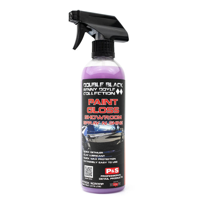 P&S Paint Gloss Showroom Spray & Shine - 473ml/3.8L
