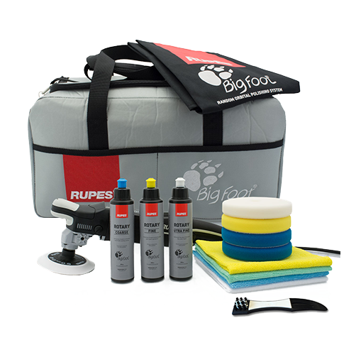 Rupes LH 19E Rotary Polisher/Deluxe Kit(*)