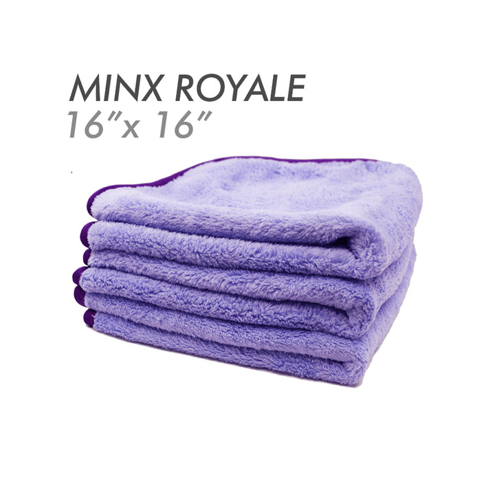 The Rag Company Minx Royale Coral Fleece 70/30 Microfibre Towel