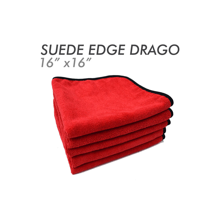 The Rag Company The Drago Suede Edge 70/30 Microfibre Towel