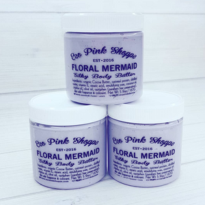 Floral Mermaid Silky Body Butter