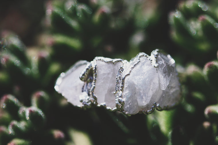 Moonbeam // June Stackable Ring