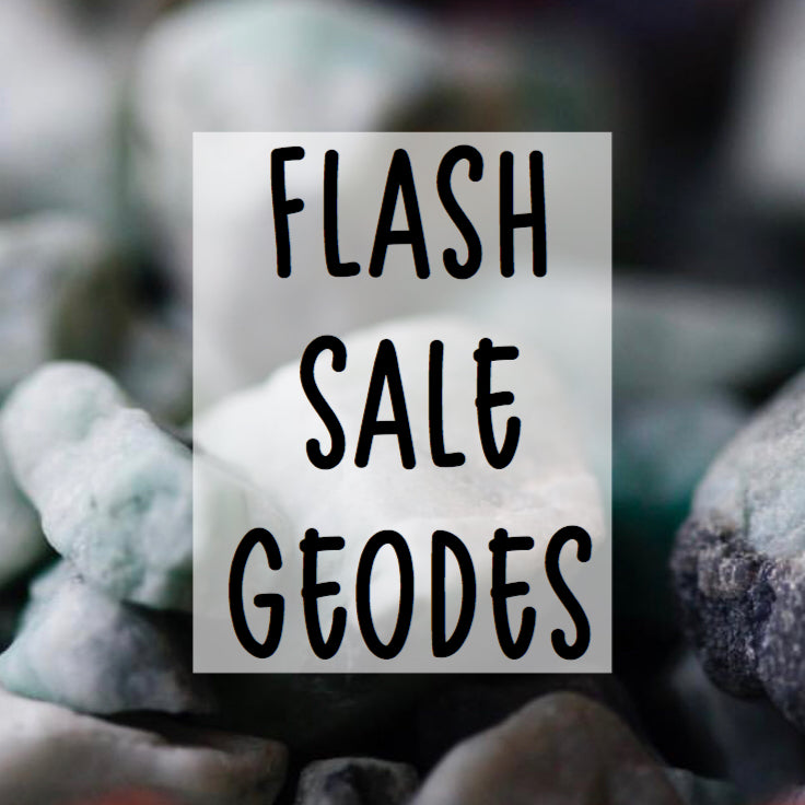 SOLD OUT - Geode Necklaces - Flash Sale