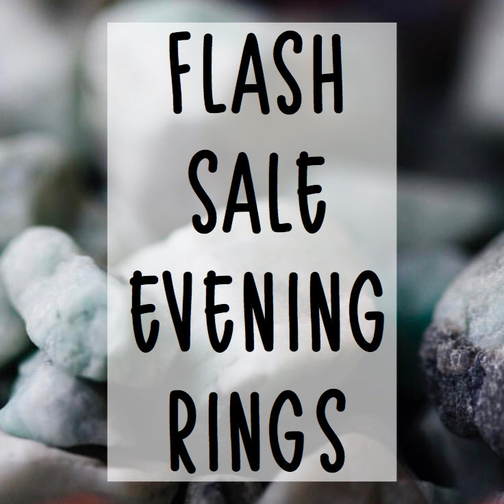 Evening Rings - pick your metal - Flash Sale - Little Sycamore