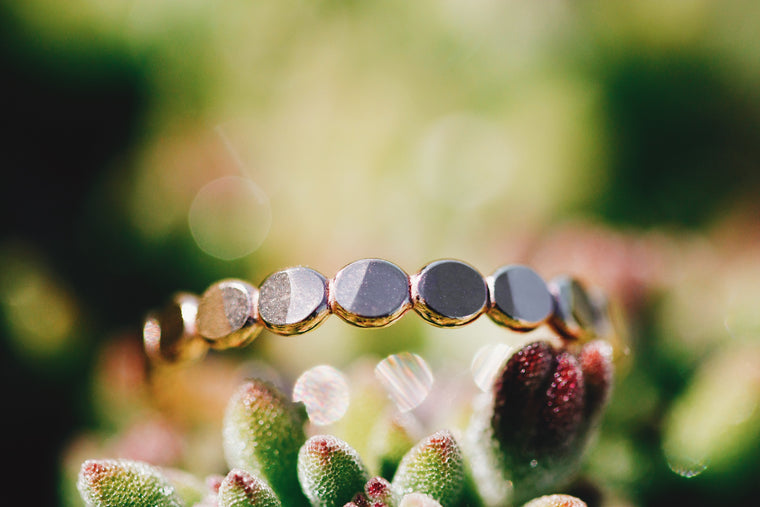 Larger Pebble Ring // Rose Gold, Gold, or Silver