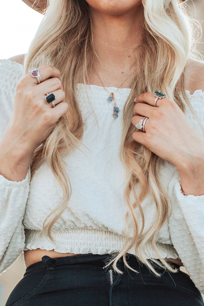 Rad and Happy Ring // Silver