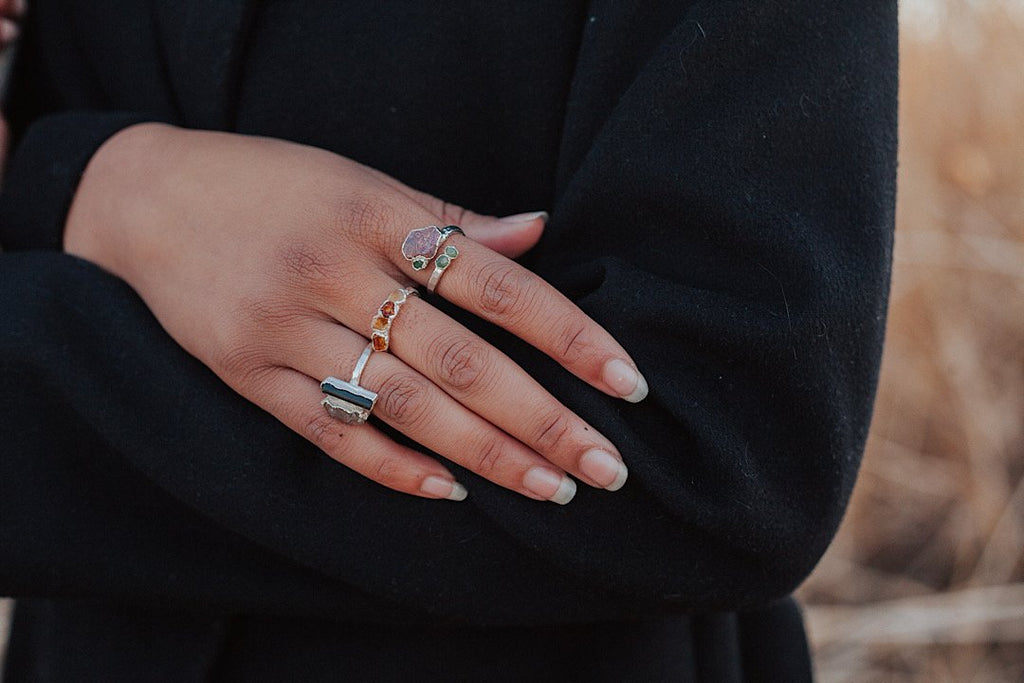 Rosebud Ring // Rose Gold, Gold, or Silver