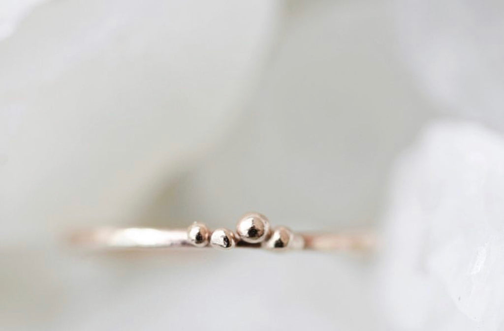 Mini Momma Ring // Rose Gold, Gold, Silver - Little Sycamore