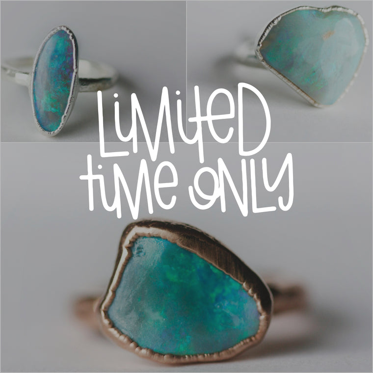 Opal Rings – Little Sycamore