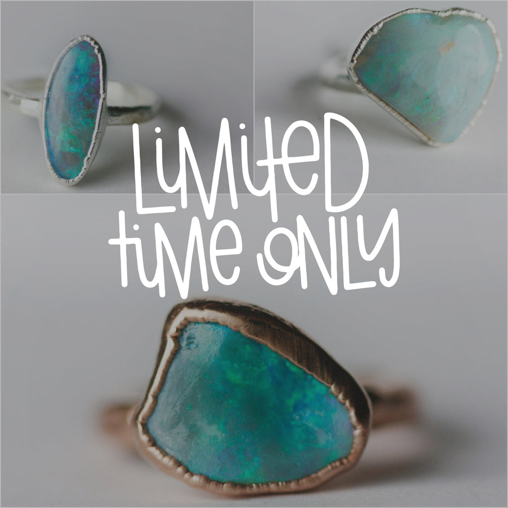 Opal Ring #52 - Little Sycamore