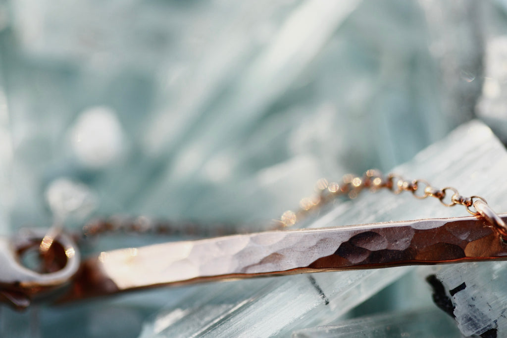 October Moment Bracelet // Rose Gold, Gold, or Silver - Little Sycamore