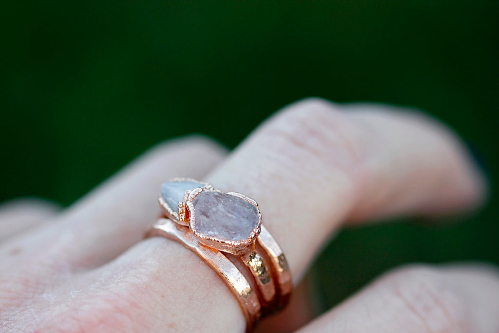 Sadie Ring // Rose Gold - Little Sycamore