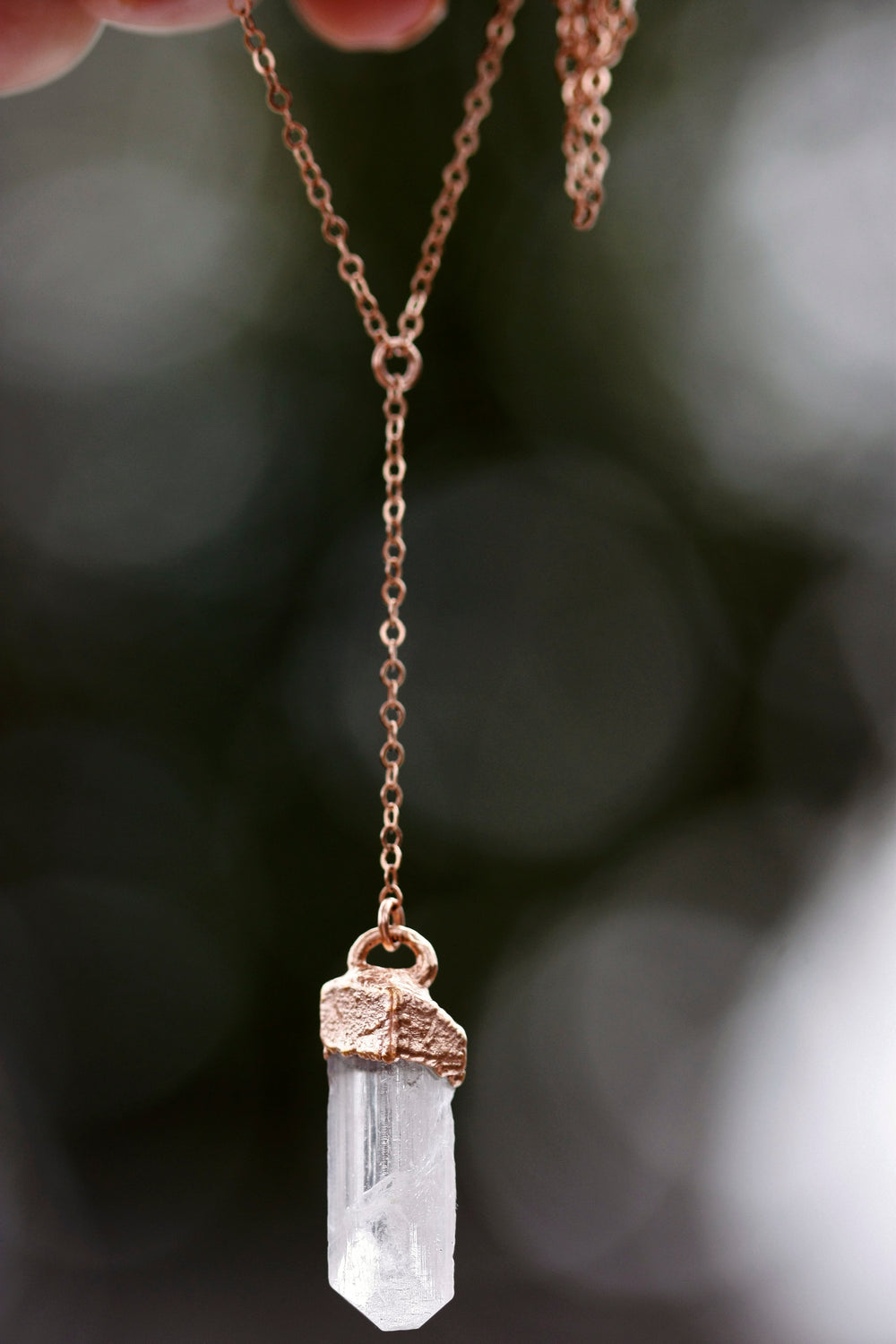 Kind Necklace // Rose Gold, Gold, or Silver