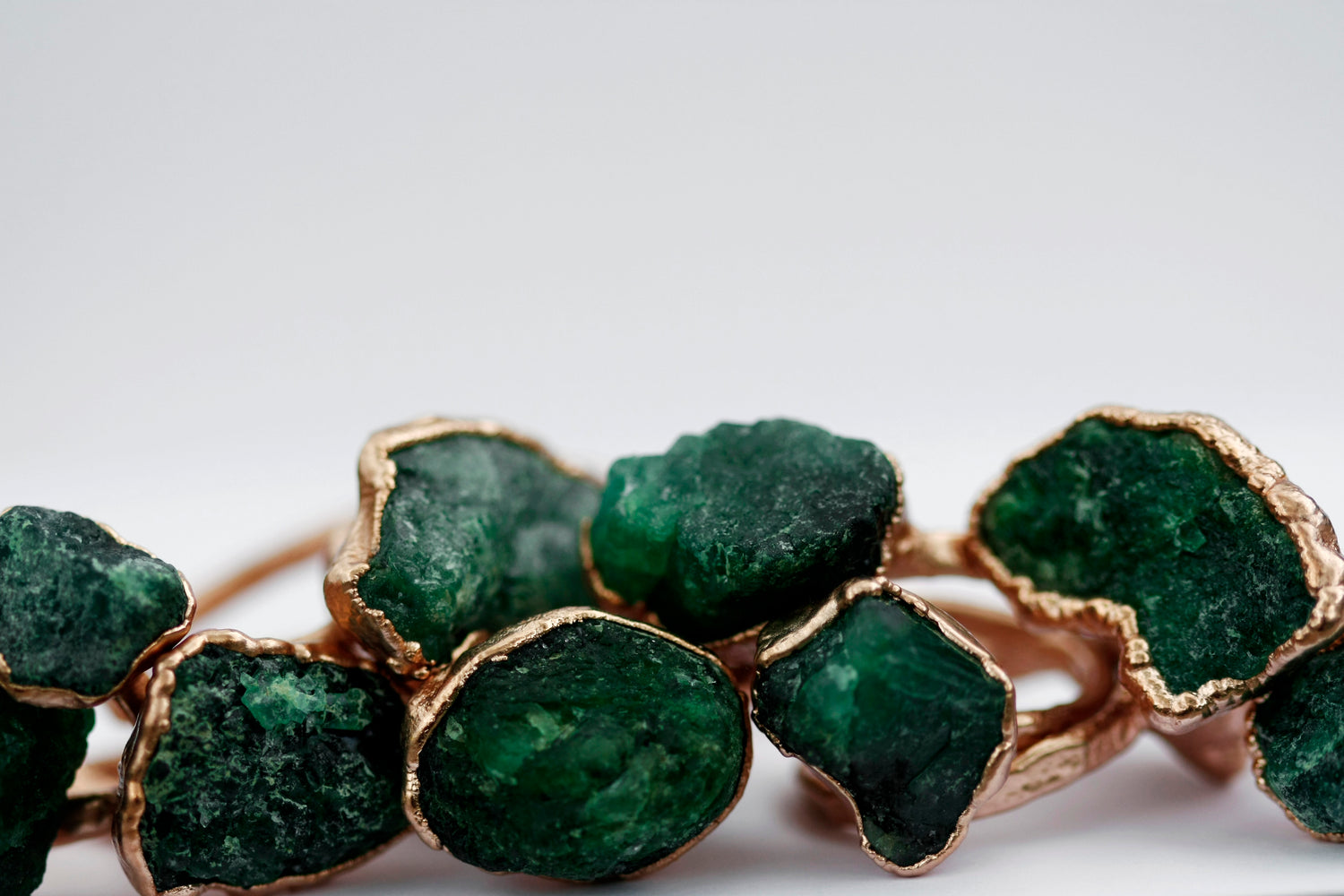 Emerald Ring // Rose Gold