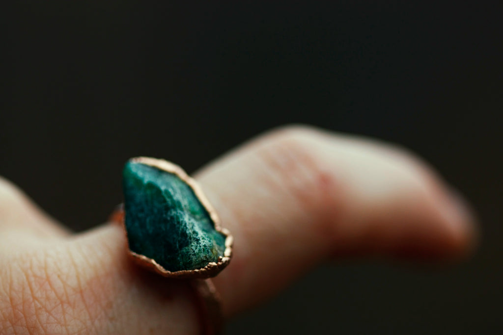 DISCONTINUED May Statement Ring // Rose Gold - Little Sycamore