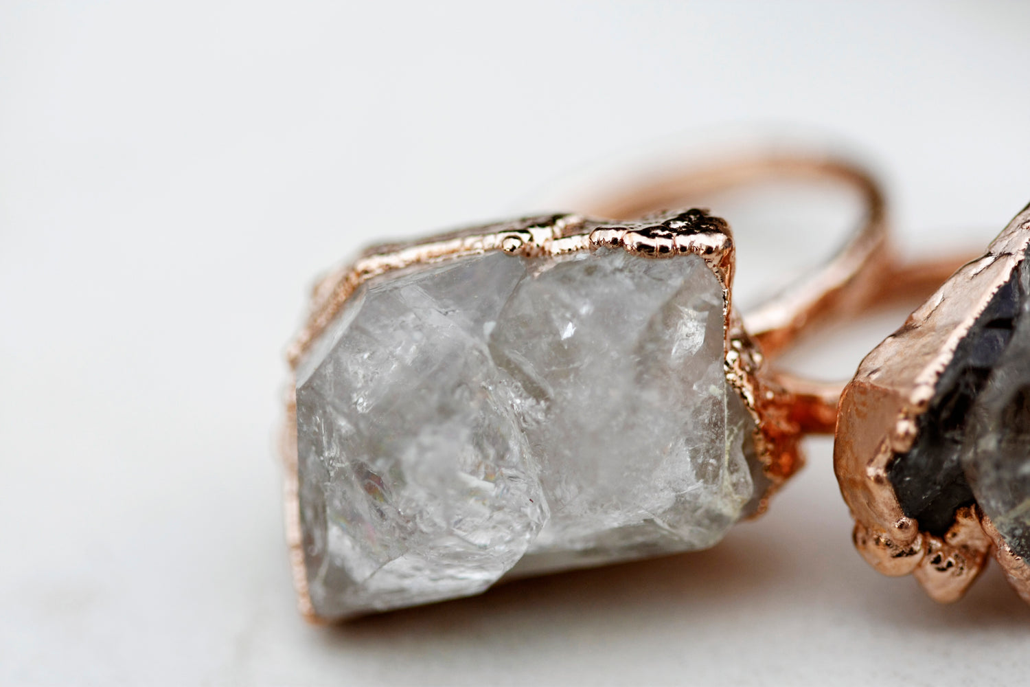 Smoky Waters Ring // Rose Gold, Gold, and Silver coming soon - Little Sycamore