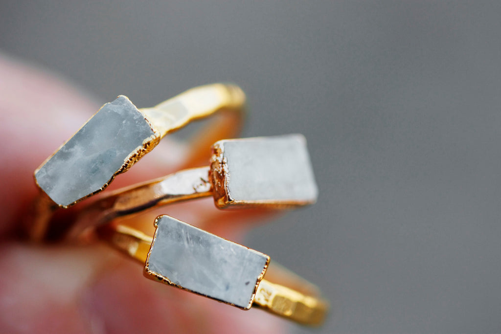June Stackable Ring // Rose Gold, Gold, or Silver - Little Sycamore