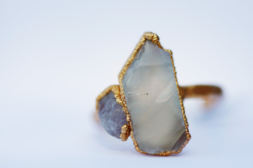 June  Statement Ring // Gold