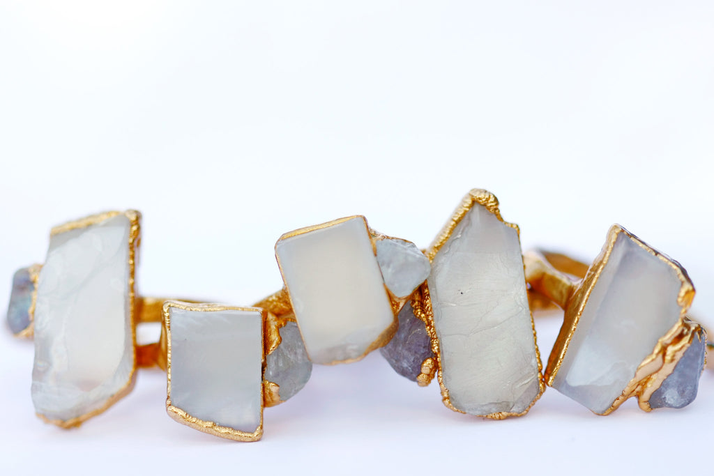 June  Statement Ring // Gold - Little Sycamore