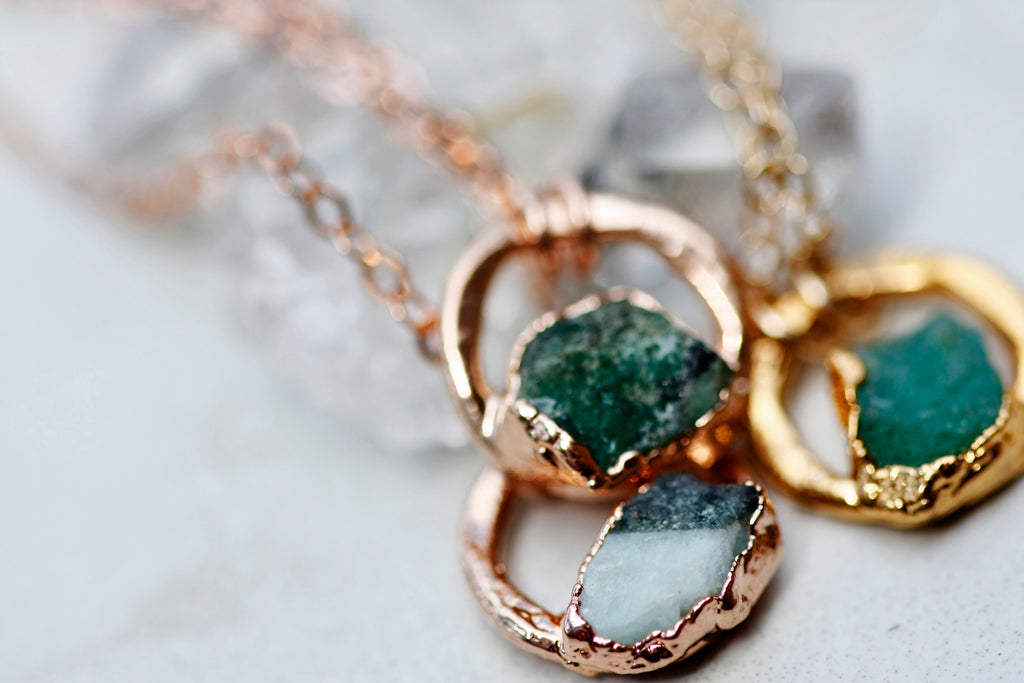May Moment Necklace // Rose Gold, Gold, or Silver - Little Sycamore