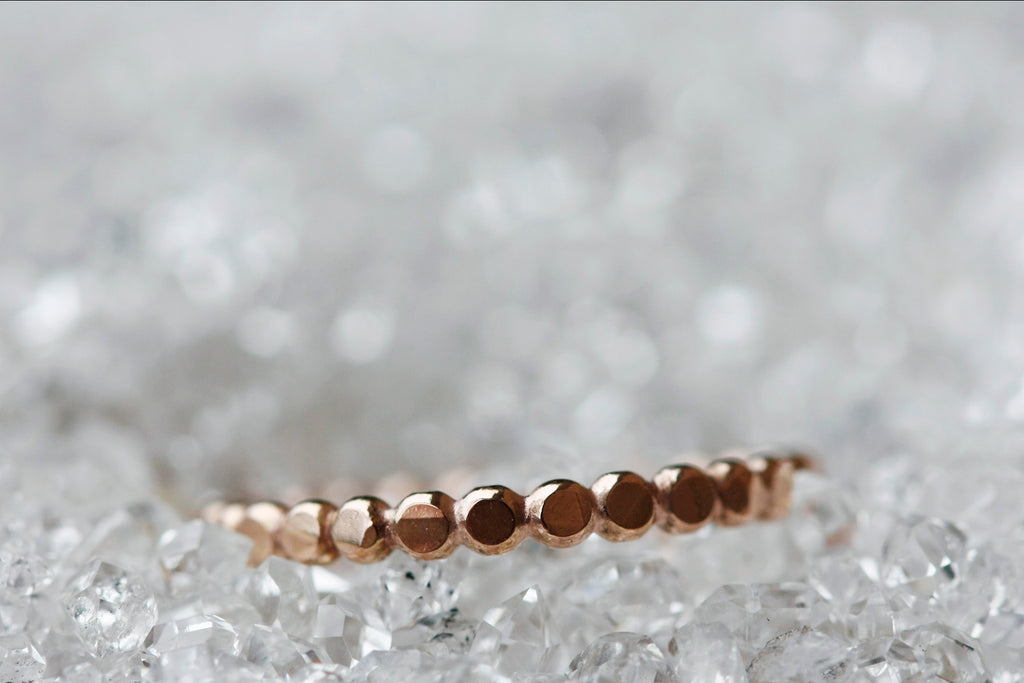 Pebble Ring // Rose Gold, Gold, or Silver