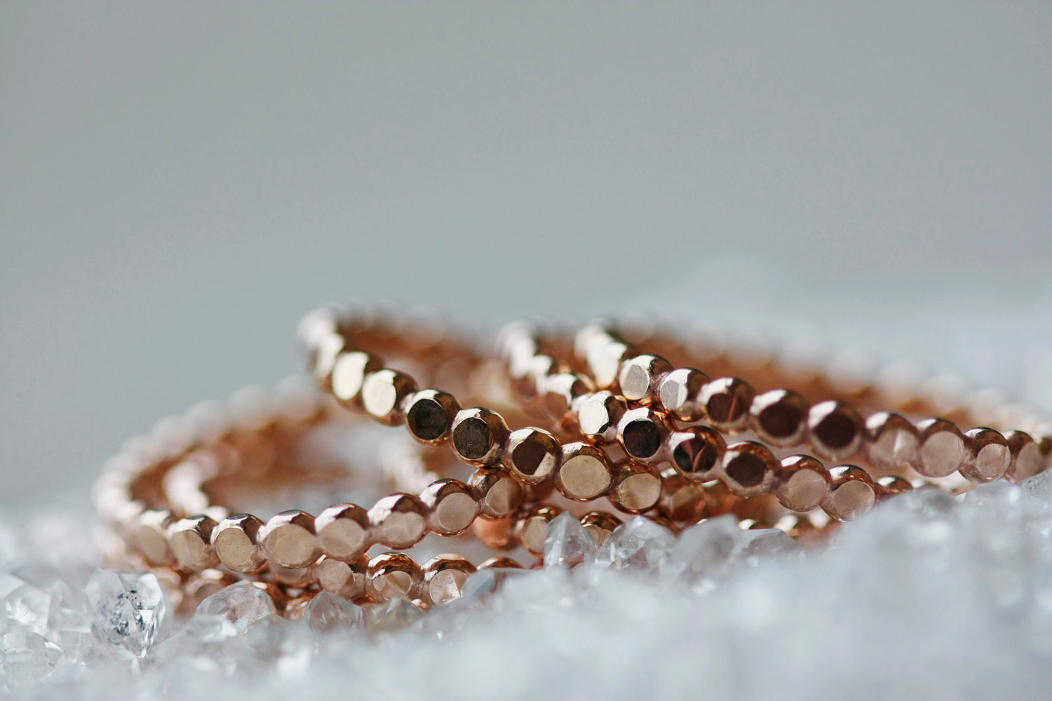 Pebble Ring // Rose Gold, Gold, or Silver - Little Sycamore