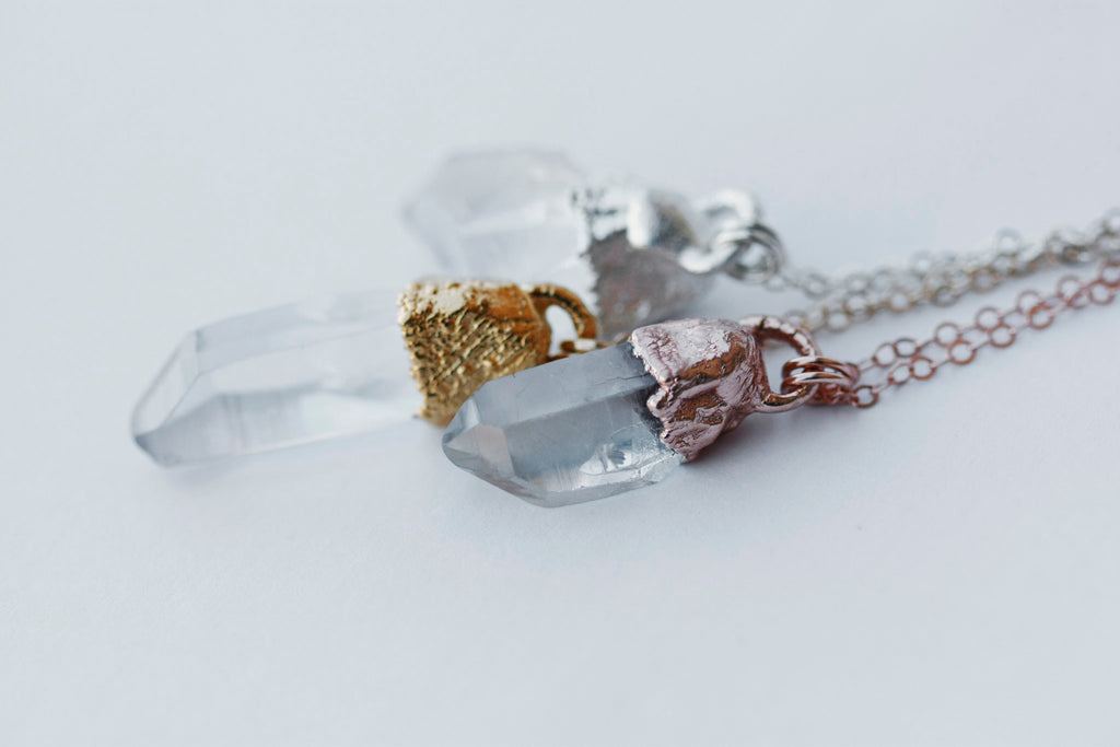 Clarity Necklace // Rose Gold, Gold, or Silver - Little Sycamore
