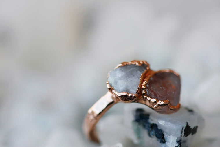 Sadie Ring // Rose Gold