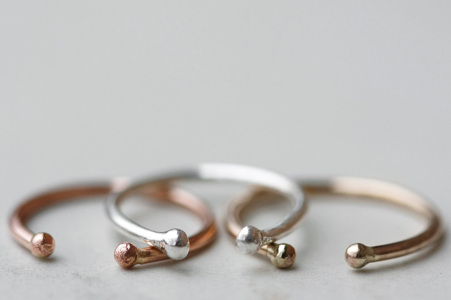 Valley Ring // Rose Gold, Gold, or Silver - Little Sycamore