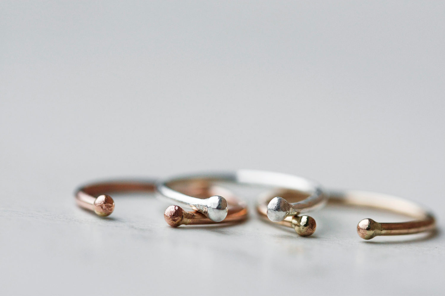 Valley Ring // Silver (gold and rose gold coming soon)