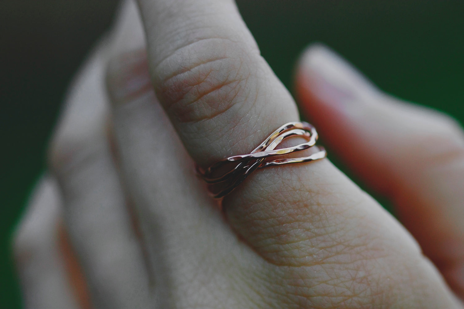 Nest Ring // Rose Gold, Gold, or Silver
