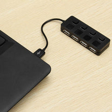 4 Port USB-A Hub with Physical Security On/Off Switches - OnlyKey