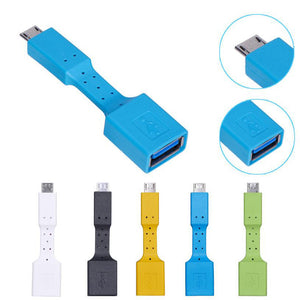 USB-Micro to USB-A OTG Adapter - OnlyKey