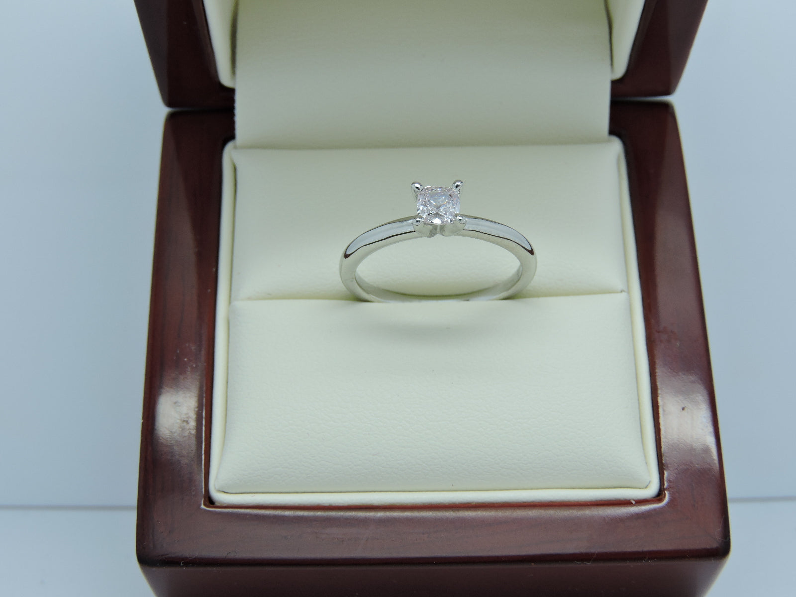 ring eng engagement certified radiant solitaire rings product model cut gia diamond with