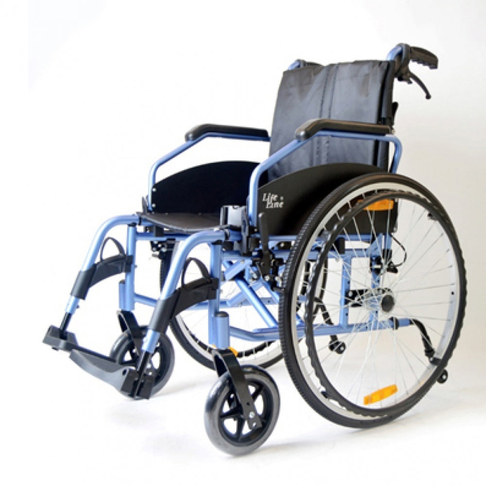 Aluminium Light Weight Detachable Wheelchair