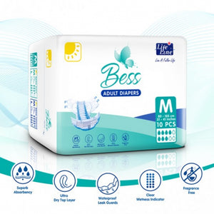 BESS Day Adult Diapers