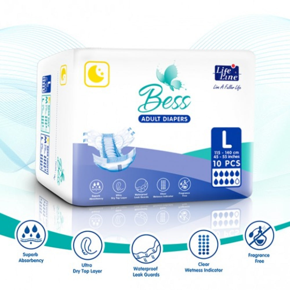 BESS Night Adult Diapers