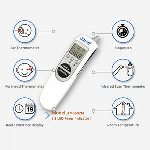 Ear & Forehead Thermometer 6 in 1 (602M)