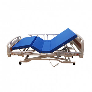 Electric Low Hospital Bed with 4 Side Rails (with Mattress)