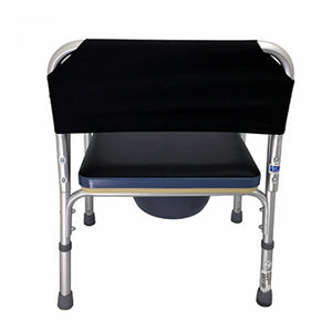 Aluminium Height Adjustable Stationary Commode