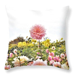 Above The Rest - Throw Pillow