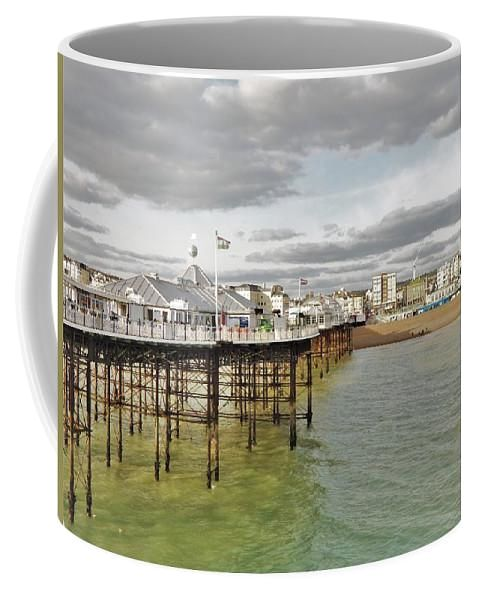 Above The Sea - Mug