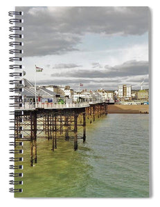 Above The Sea - Spiral Notebook