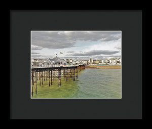 Above The Sea - Framed Print